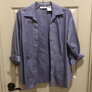 Worthington petite light blue dress shirt